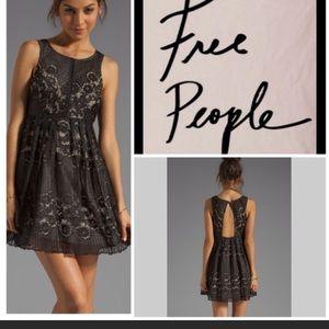 💥💥Free people black lace dress size 6💥💥